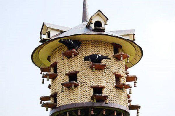 Как выглядит башенная голубятня