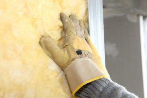 Как показывает практика, стекловата - не помеха для крыс
