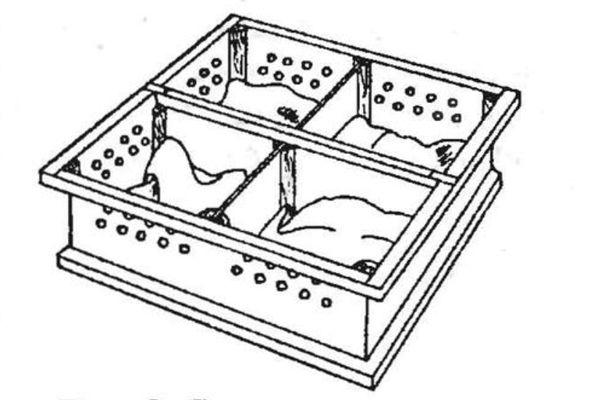 Ящик для перевозки павлинов