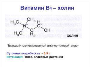 Холин - один из компонентов АСД-2