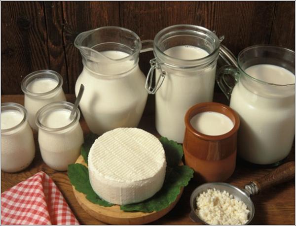 Из козьего молока могут получиться отличные творог, сыр, масло и т.д.