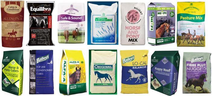 Комбинированные корма могут включаться в рацион першерона после консультации с ветеринаром