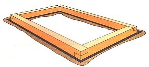 Вот, как должно выглядеть наше основание, по образу которого нужно собрать крыши и стену