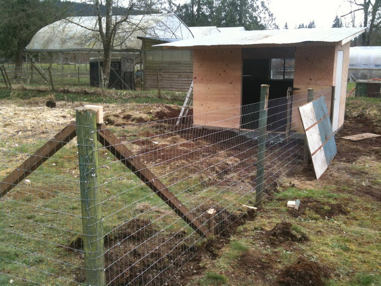 было фото схема постройки свинарника выдвижных вместительных ящика