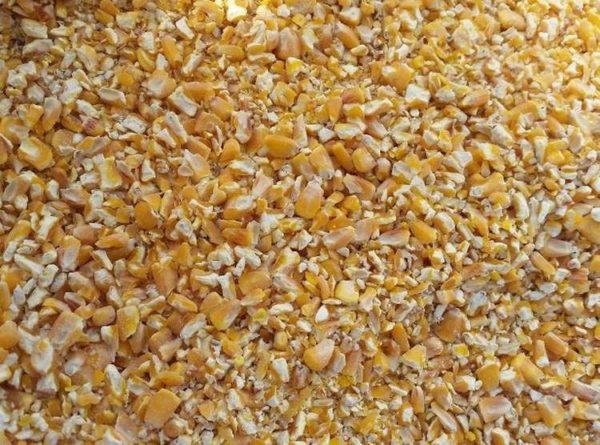 Дроблённая кукуруза средней фракции