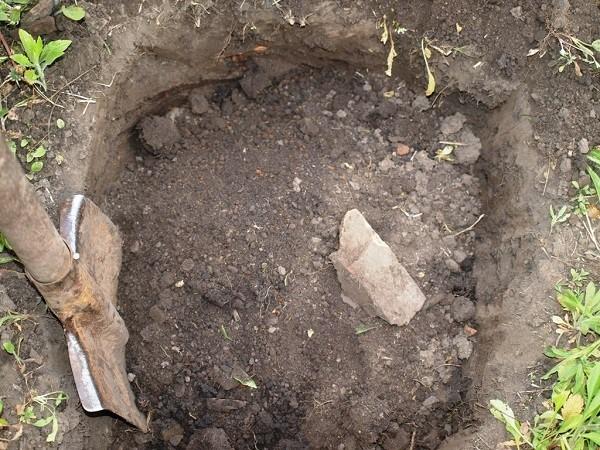 Выкапываем ямы