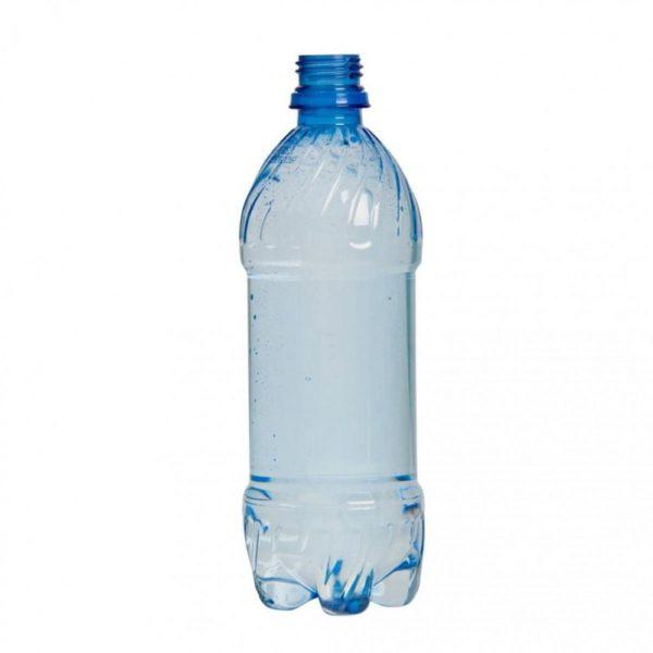 Бутылка должна быть чистой и высушенной