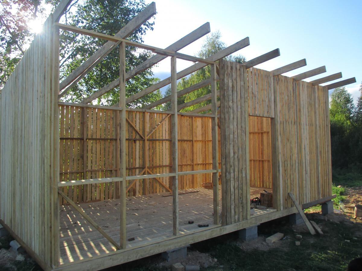 Возведение деревянных стен