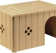 Домик для декоративного кролика