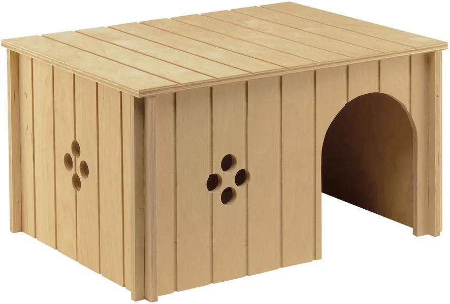 Как построить дом для кроликов