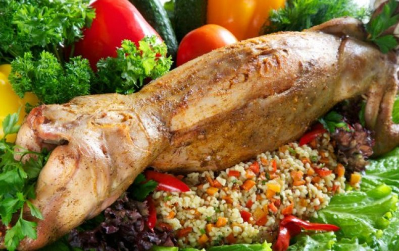 Продукт кролика богат витаминами