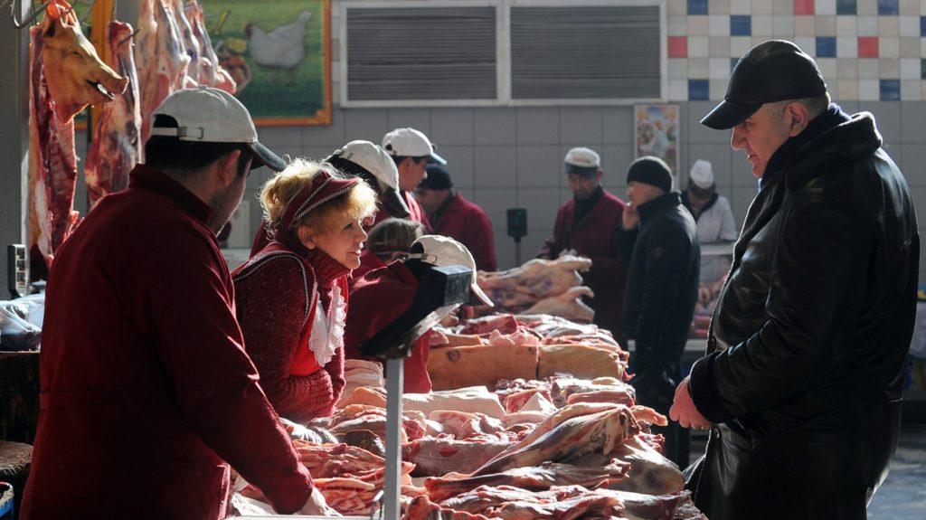 Рынок – идеально место для покупки мяса