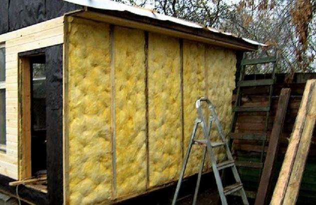 Утепление стен поможет сохранить зимой тепло