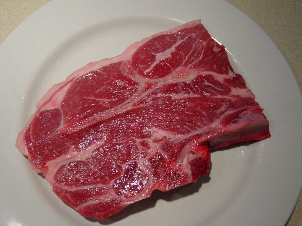Хорошее мясо имеет яркий цвет