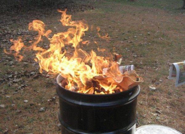 Вещи хорька нужно сжечь