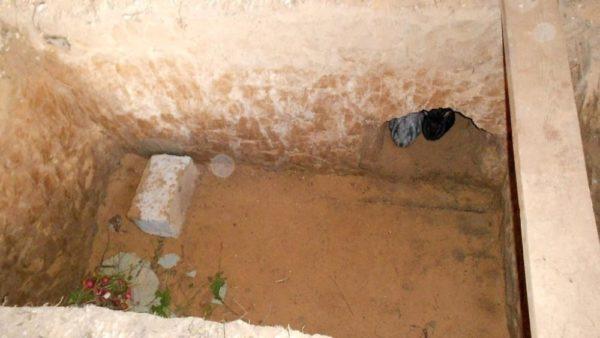 Глубина ямы для кроликов